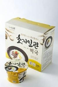 게으른농부/ 김포금쌀/ 초지일관 즉석떡국 (163g*6개)